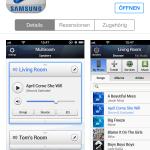 """Im AppStore finden wir die Samsung Multiroom App unter den Namen """"Wireless Audio - Multiroom"""""""
