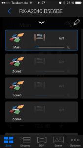 Mit einen Klick verschiedene Zonen aktiveren und deaktivieren. Sehr interessant wenn man Lautsprecher in andere Räume platziert hat. So kann ich diese auch direkt in den Raum steuern ohne großartig noch was dazu zu kaufen müssen. Wie viel Zonen zur Auswahl stehen hängt auch hier vom Modell ab.