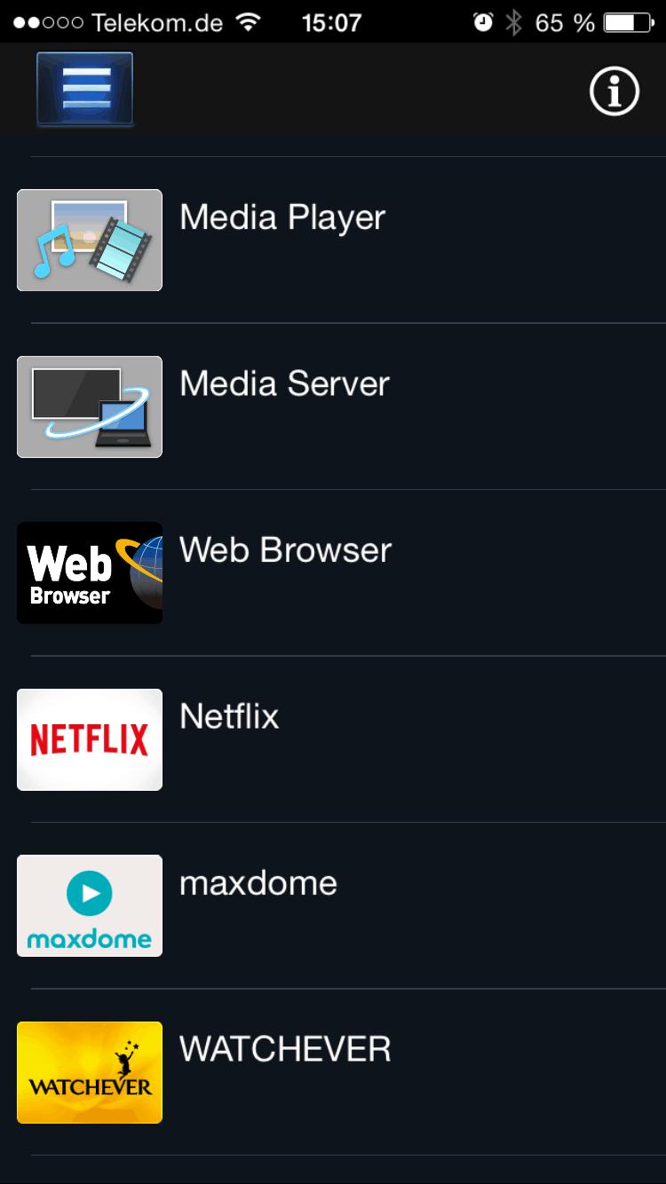 Was kann die Panasonic TV App? - Heimkinopartner