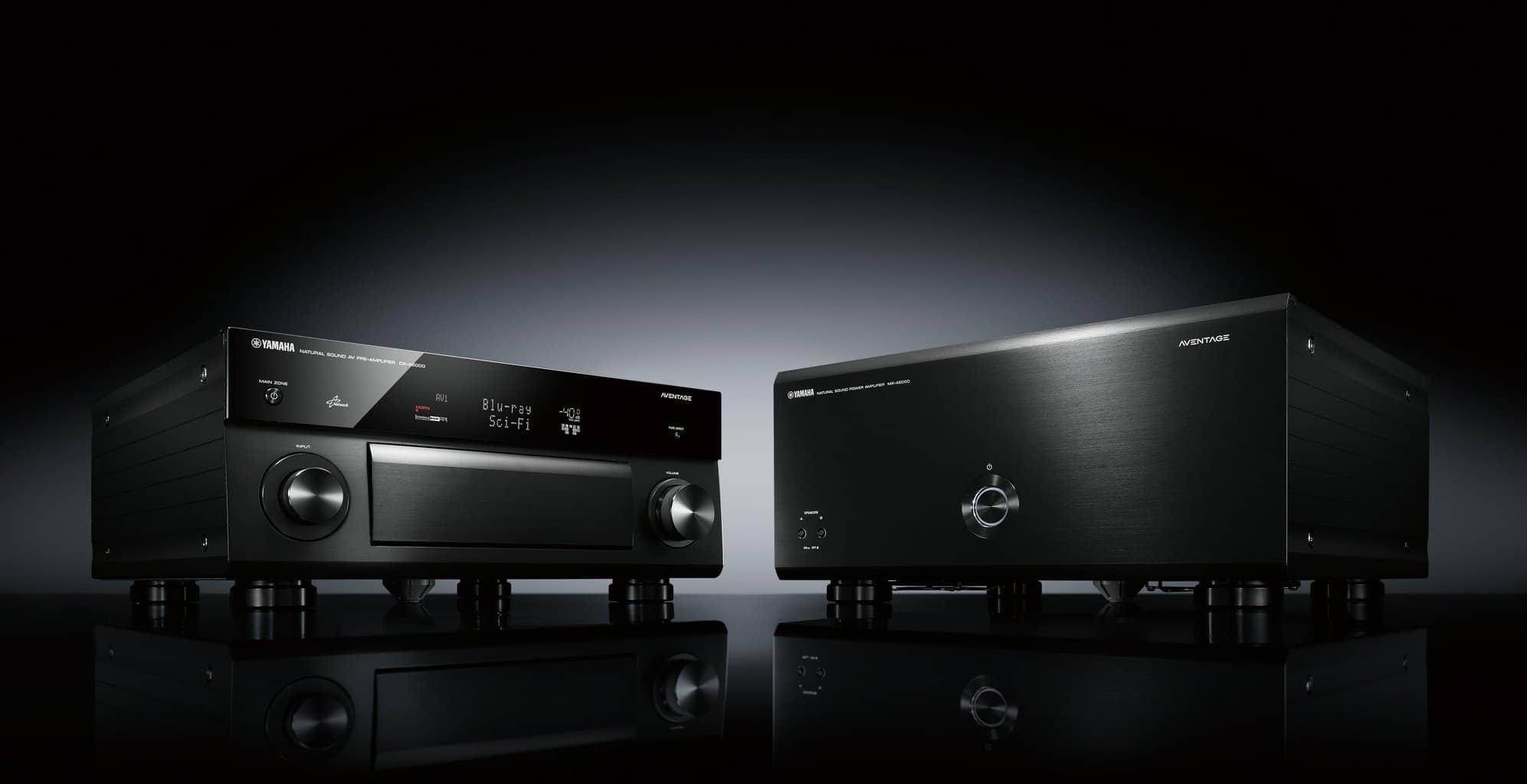 Yamaha CX-A5100 und MX-A5000