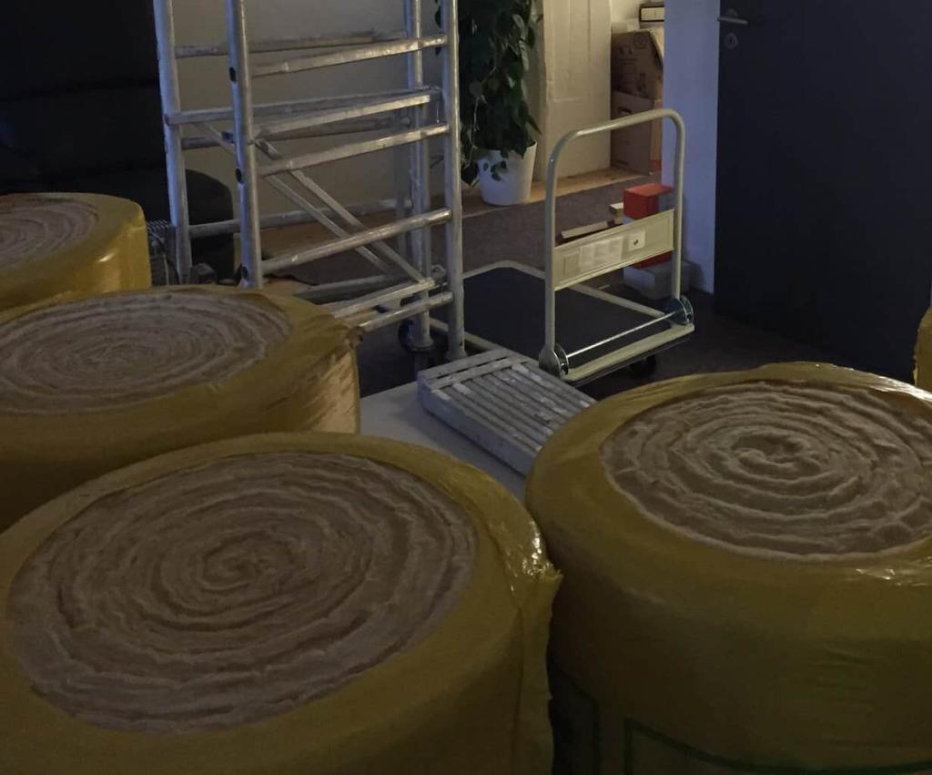 Heimkinoumbau akustikschaumstoff isolierung