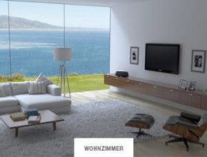 Heos Wohnzimmer