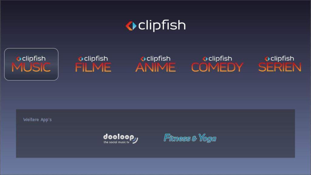 Clipfish LG App