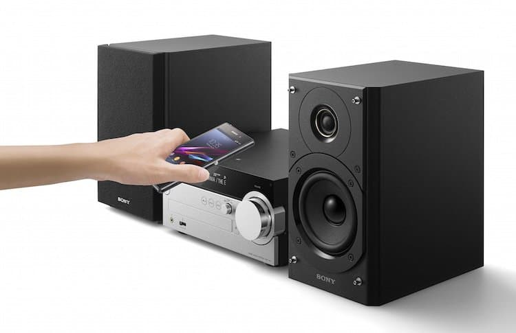 Kabelloses Micro-HiFi-System CMT-SX7B