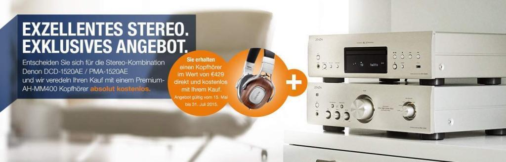 Denon Stereo Kombi + Kopfhörer Aktion