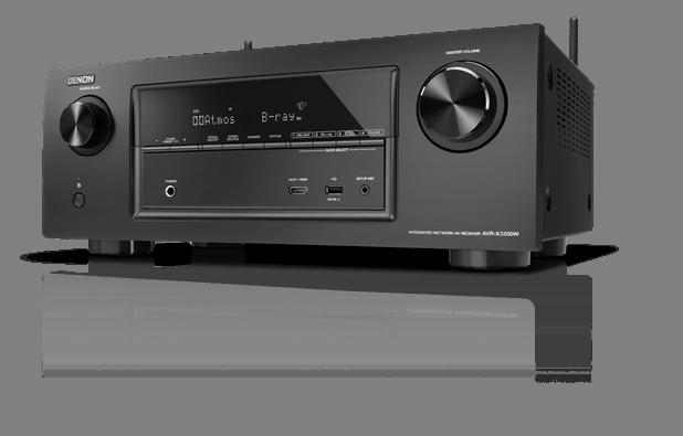 AVR-X3200W 7.2 Kanal Full 4K Ultra HD Netzwerk A/V Receiver mit WLAN und Bluetooth