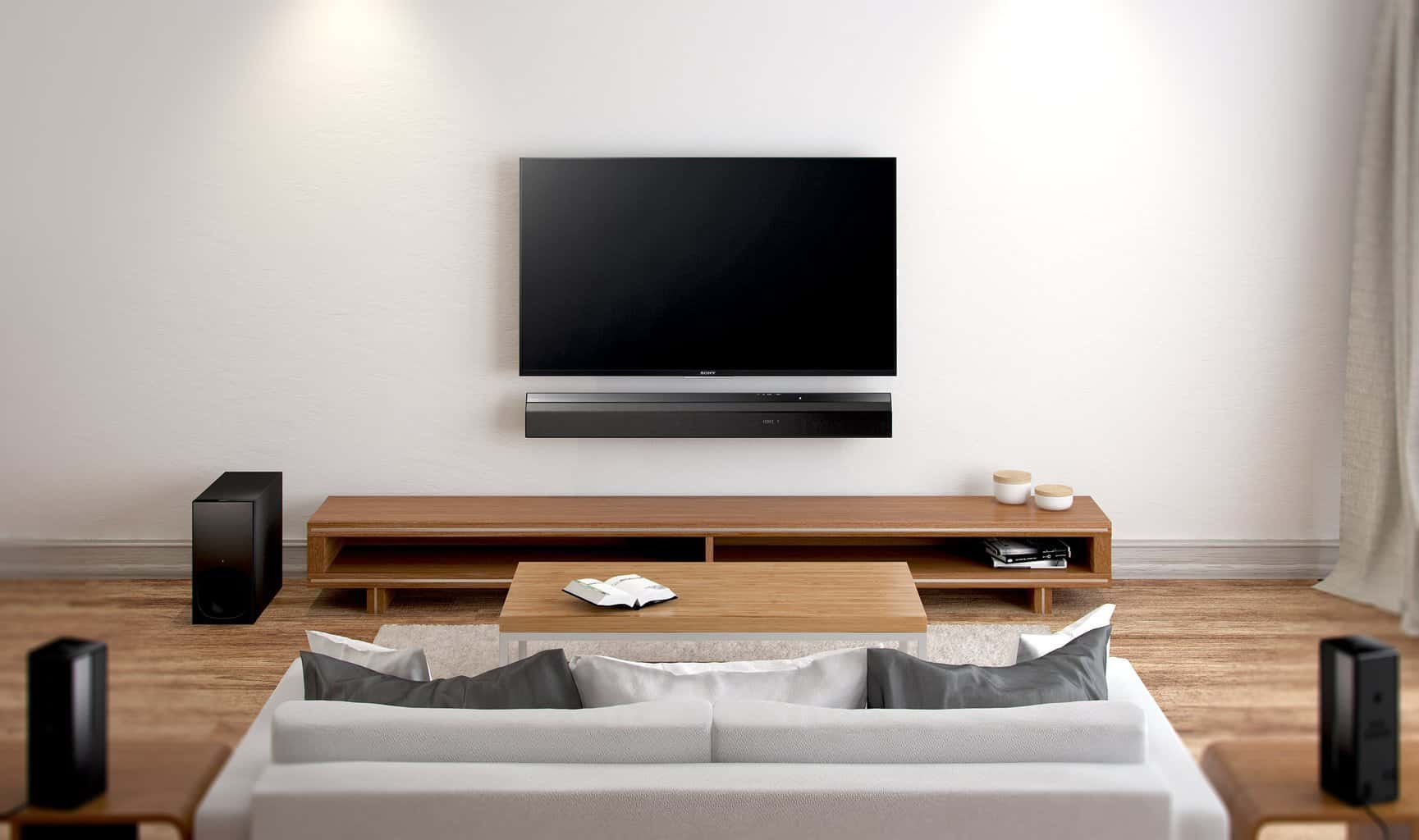 neuheit sony ht rt5 surround soundbar heimkinopartner. Black Bedroom Furniture Sets. Home Design Ideas