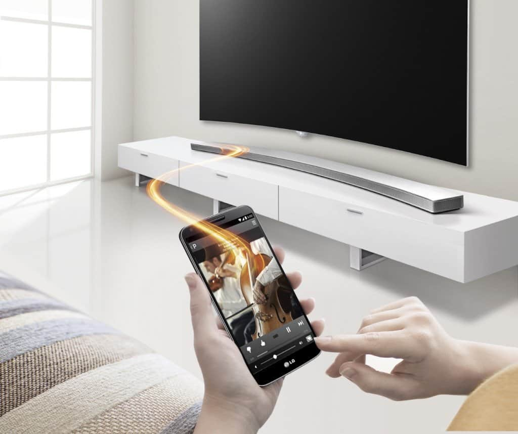 LG HS8 Curved Soundbar