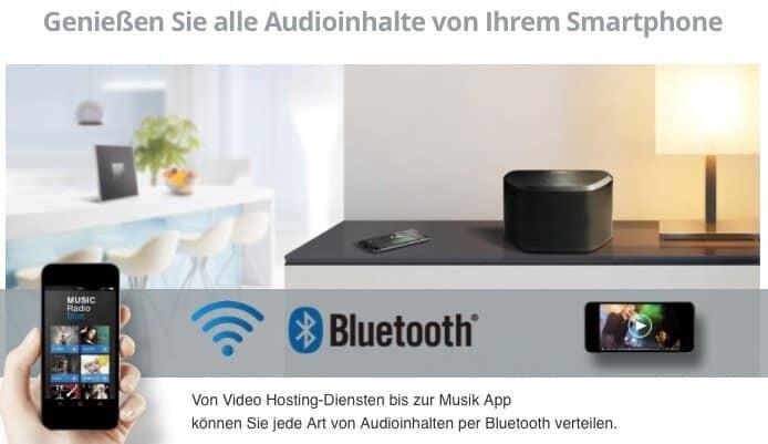 Yamaha MusicCast Bluetooth