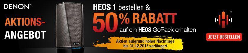 HEOS Multiroom - HEOS 1 Go Pack Aktion