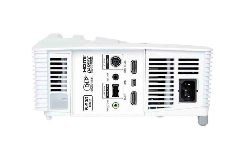 Optoma HD28DSE Darbee Anschlüsse