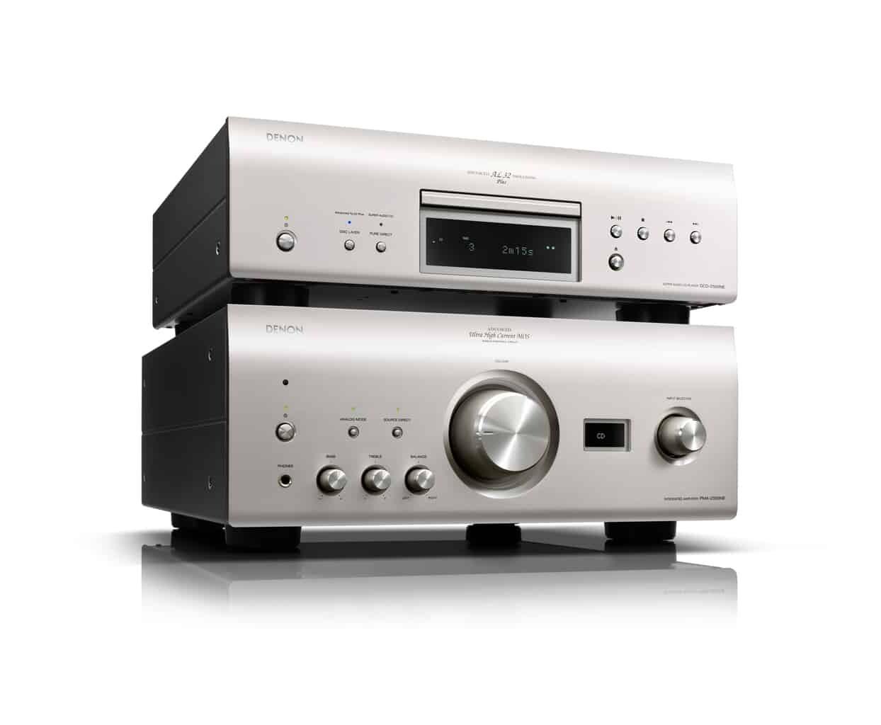 Denon PMA-2500 und DCD-2500