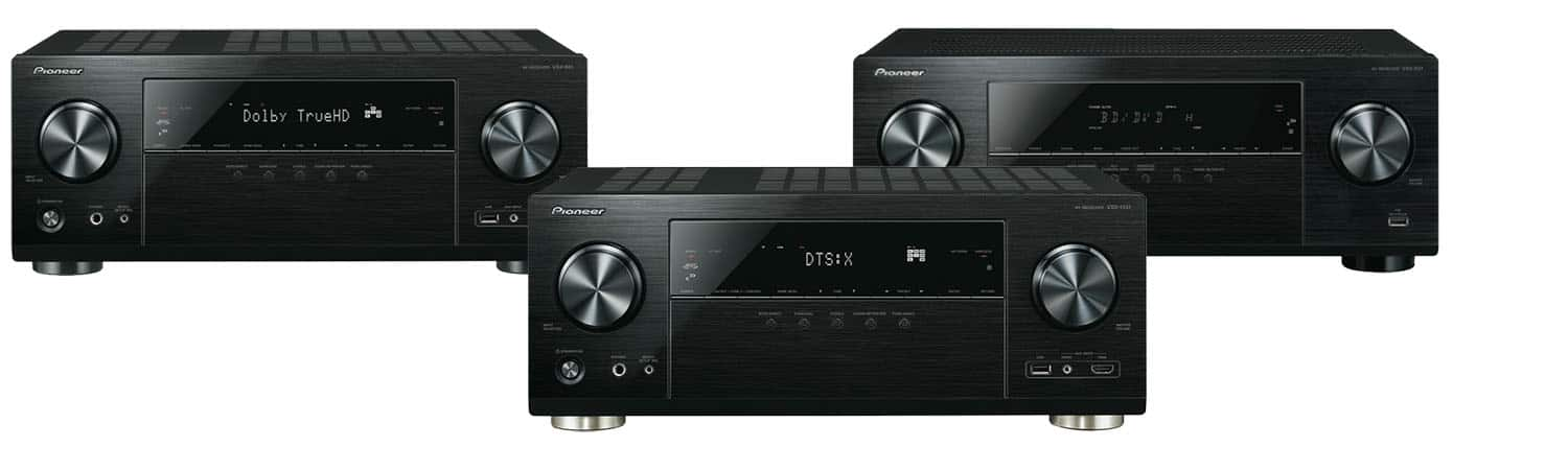 Neues Pioneer A/V Receiver Line Up 2016