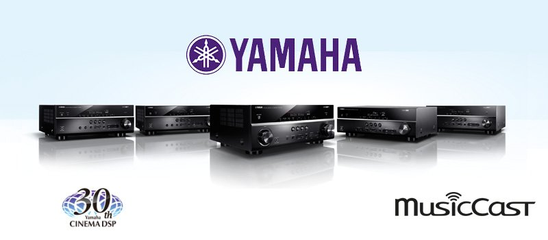 Yamaha RX-V A/V Receiver Line Up 2016