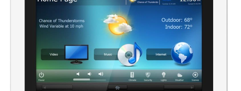 RTI: Neues Wandeinbau-Touchpanel