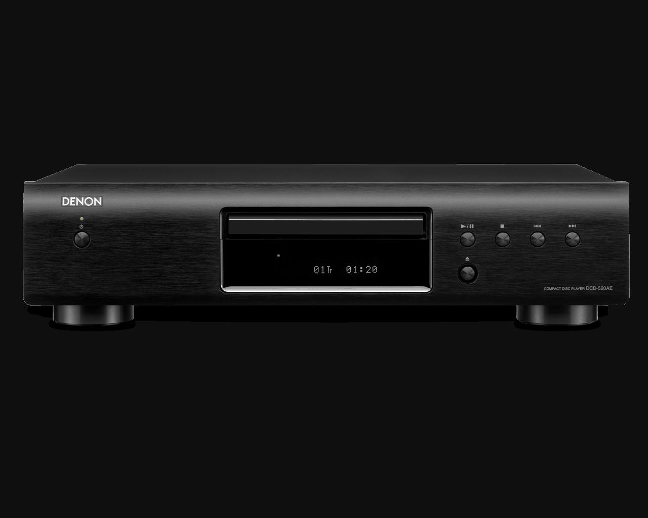 DCD-520AE schwarz front