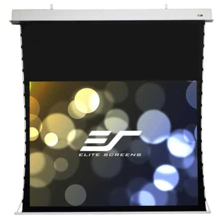 Elite Screens Evanesce TabTension Deckeneinbau Premium