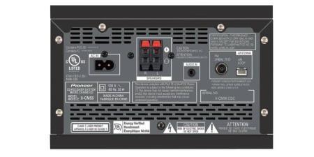 Pioneer X-CM56 Rueckseite