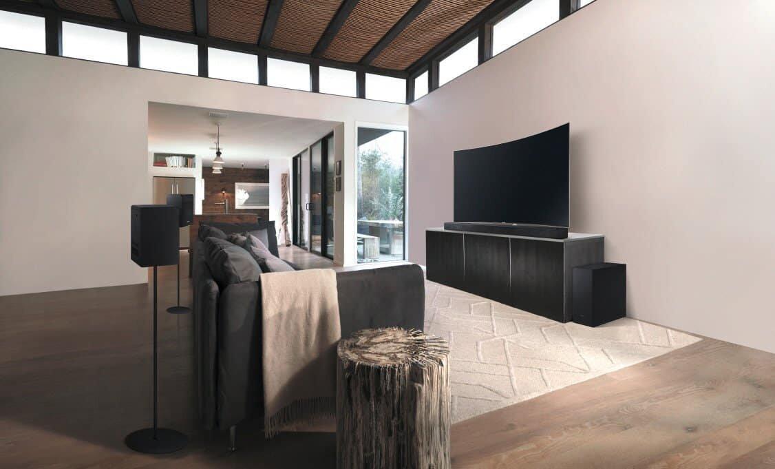Samsung HW K950 Kinosound Im Wohnzimmer Heimkinopartner Bremen