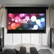 Elite Screens VMAX Dual Multiformat Motorleinwand