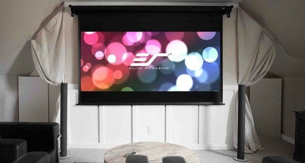 Elite Screens VMAX Dual Multiformat Motorleinwand