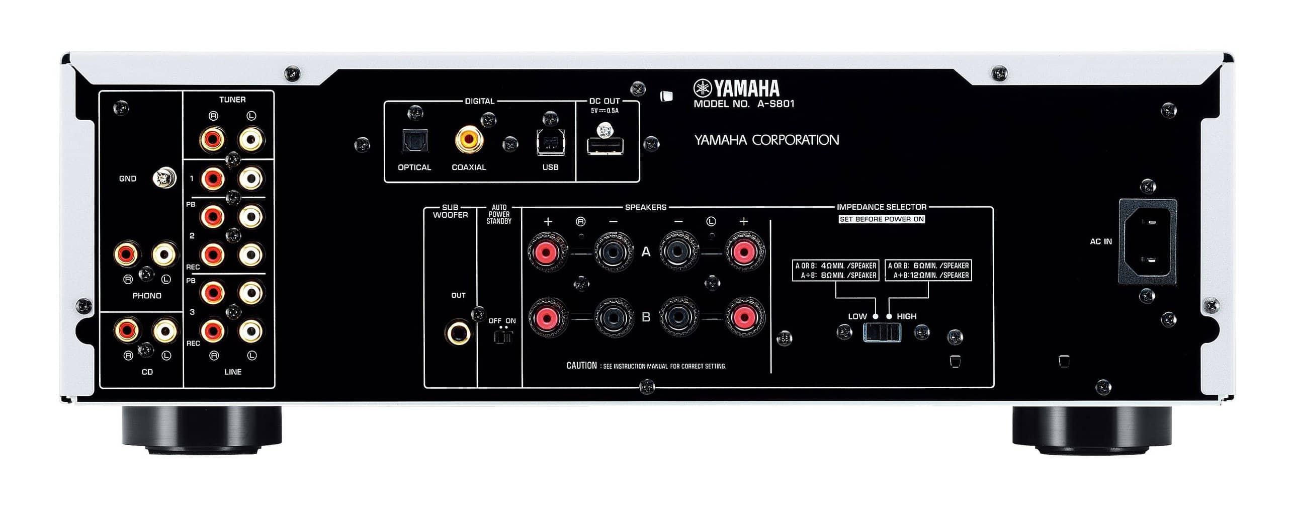 Yamaha A-S801 rueckseite
