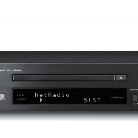 Yamaha MusicCast CD-NT670D schwarz