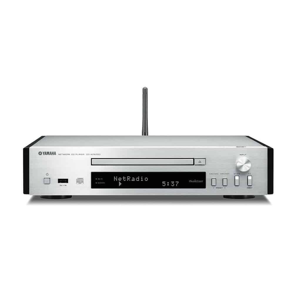 Yamaha MusicCast CD-NT670D silber