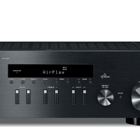 Yamaha R-N301 schwarz