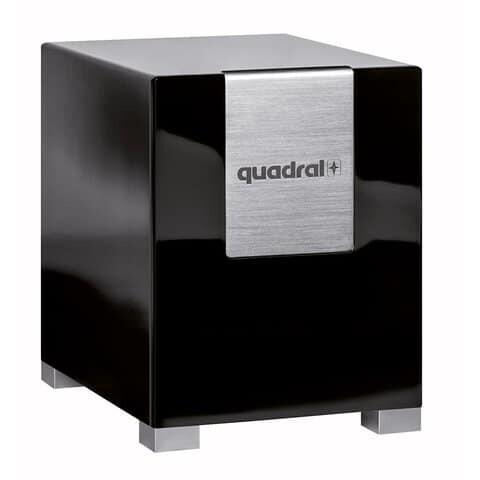 quadral qube 10 aktiv subwoofer heimkinopartner. Black Bedroom Furniture Sets. Home Design Ideas