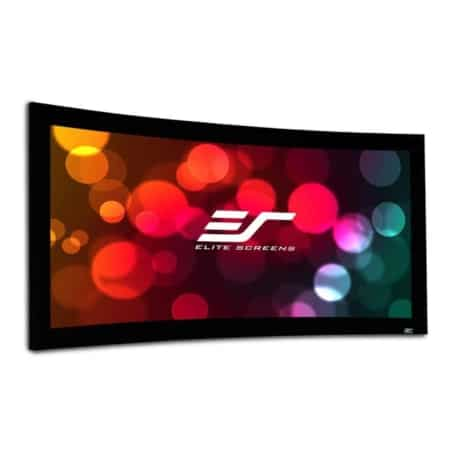 Elite Screens Lunette Curved Rahmenleinwand