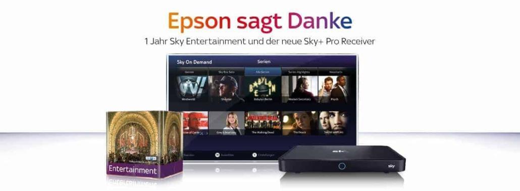Epson Projektor Sky Aktion