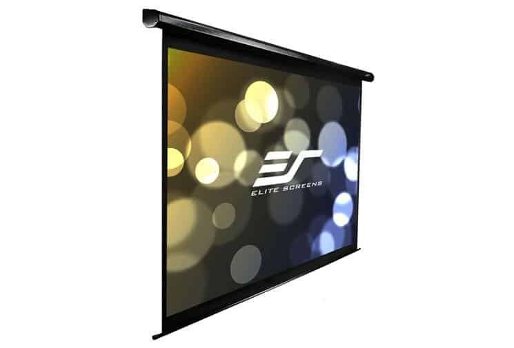 Elite Screens VMAX Motorleinwand schwarz