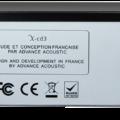 AdvAcoustic X-CD3 Rueckseite