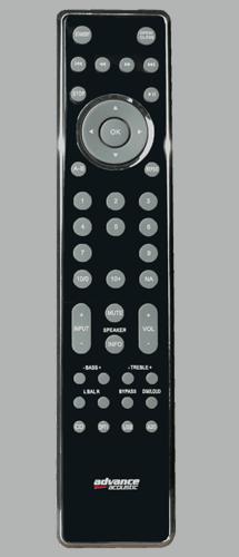 Advance Acoustic X-i90 Vollverstärker Remote