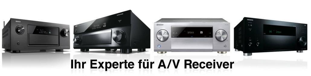 Experte A/V Receiver DTS:X Receiver Dolby Atmos