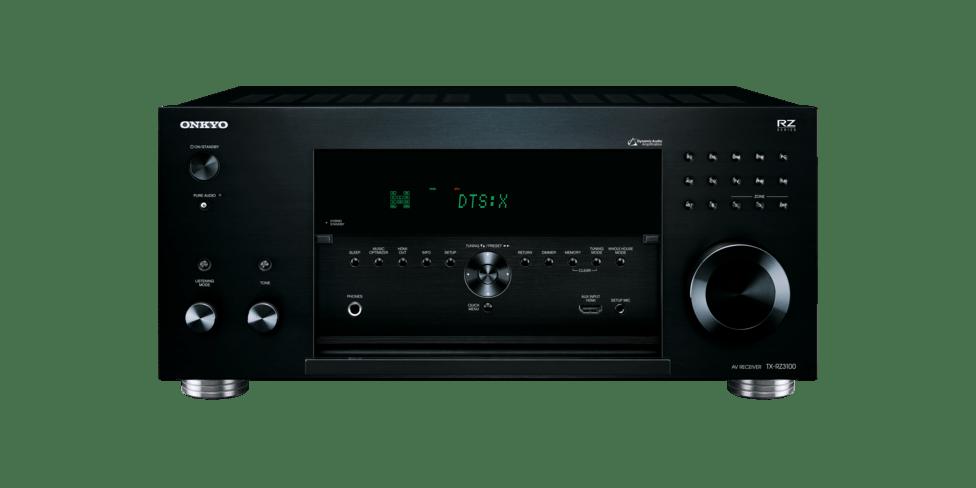 Onkyo TX-RZ3100 schwarz front offen