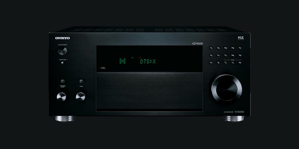Onkyo TX-RZ3100 schwarz front