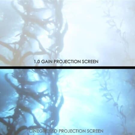 ezFrame CineGrey 5D Rahmenleinwand