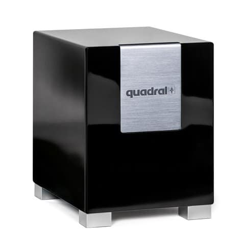 quadral Qube 8 schwarz