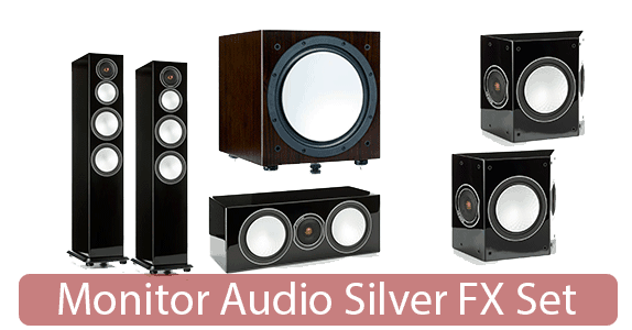 Monitor Audio Silver FX Set