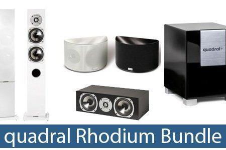 quadral Rhodium 5.1 Dipol Bundle