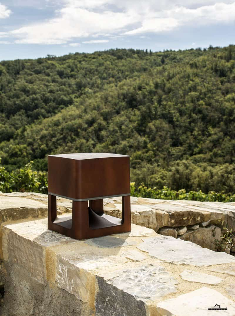garvan sa210 garten lautsprecher freistehend 360. Black Bedroom Furniture Sets. Home Design Ideas