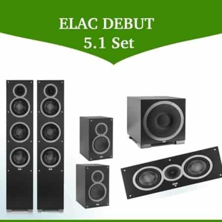 ELAC DEBUT 5.1 Set