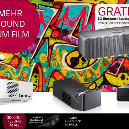 LG PF1000UT inkl. Speaker & 2x 3D Brillen