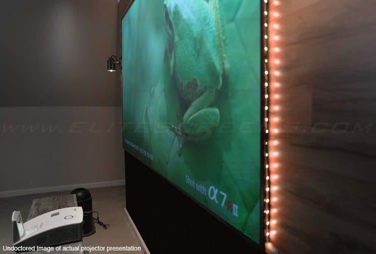Elite Screens AEON Edge CLR