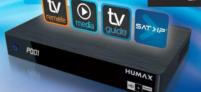 Neuheit Humax HD FOX IP Connect