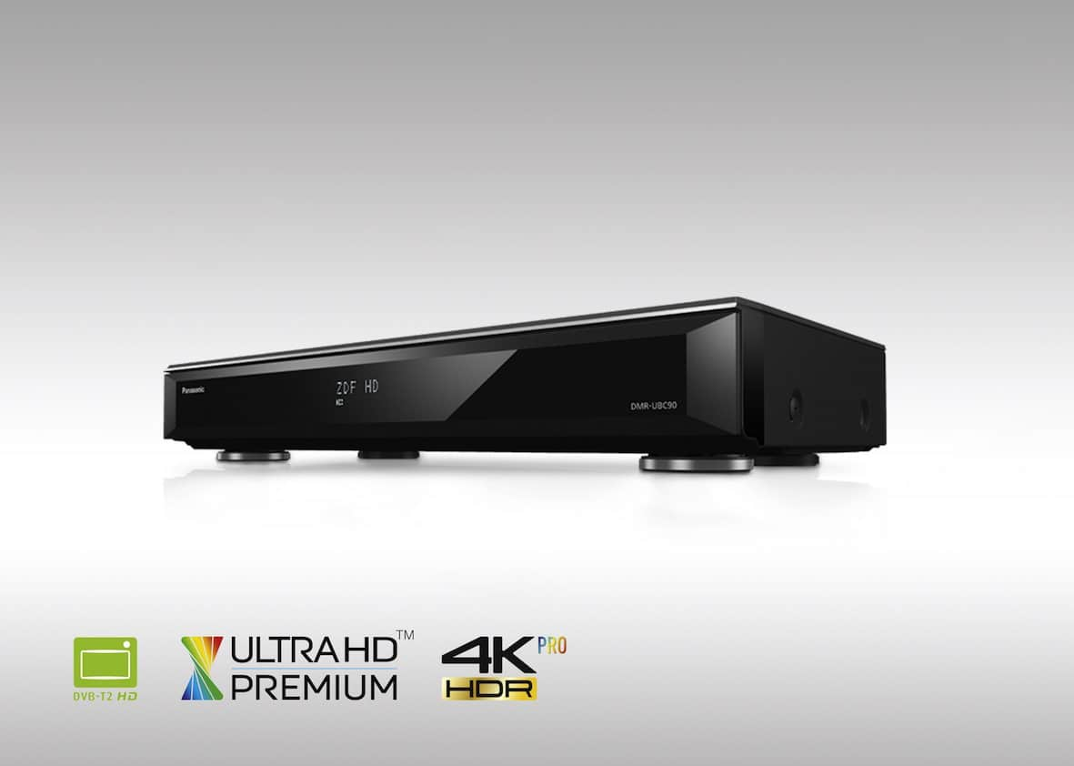 Erster UHD Blu-ray Recorder DMR-UBS90