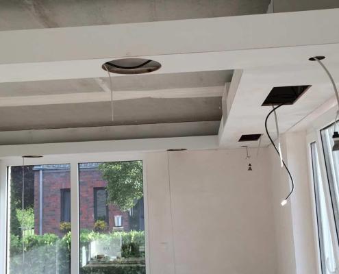 Deckenkranz Installation
