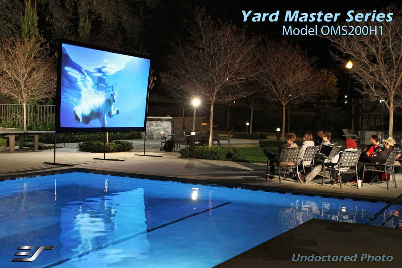 Elite Screens Yard Master Outdoor Leinwand
